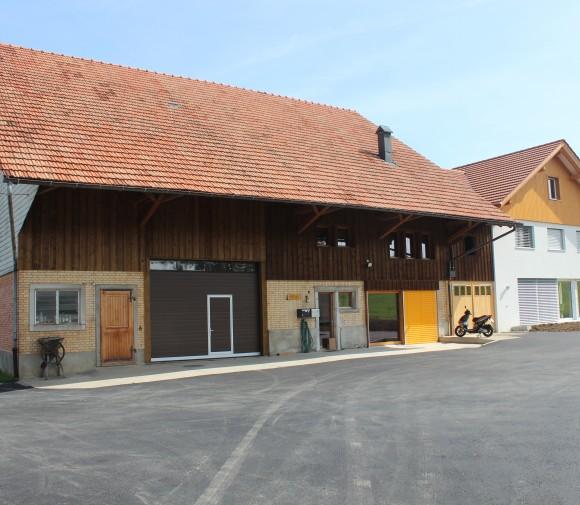 Umbau / Renovation Lömmenschwil